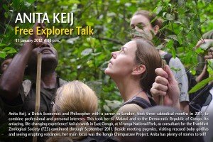 National Geographic Explorer talk