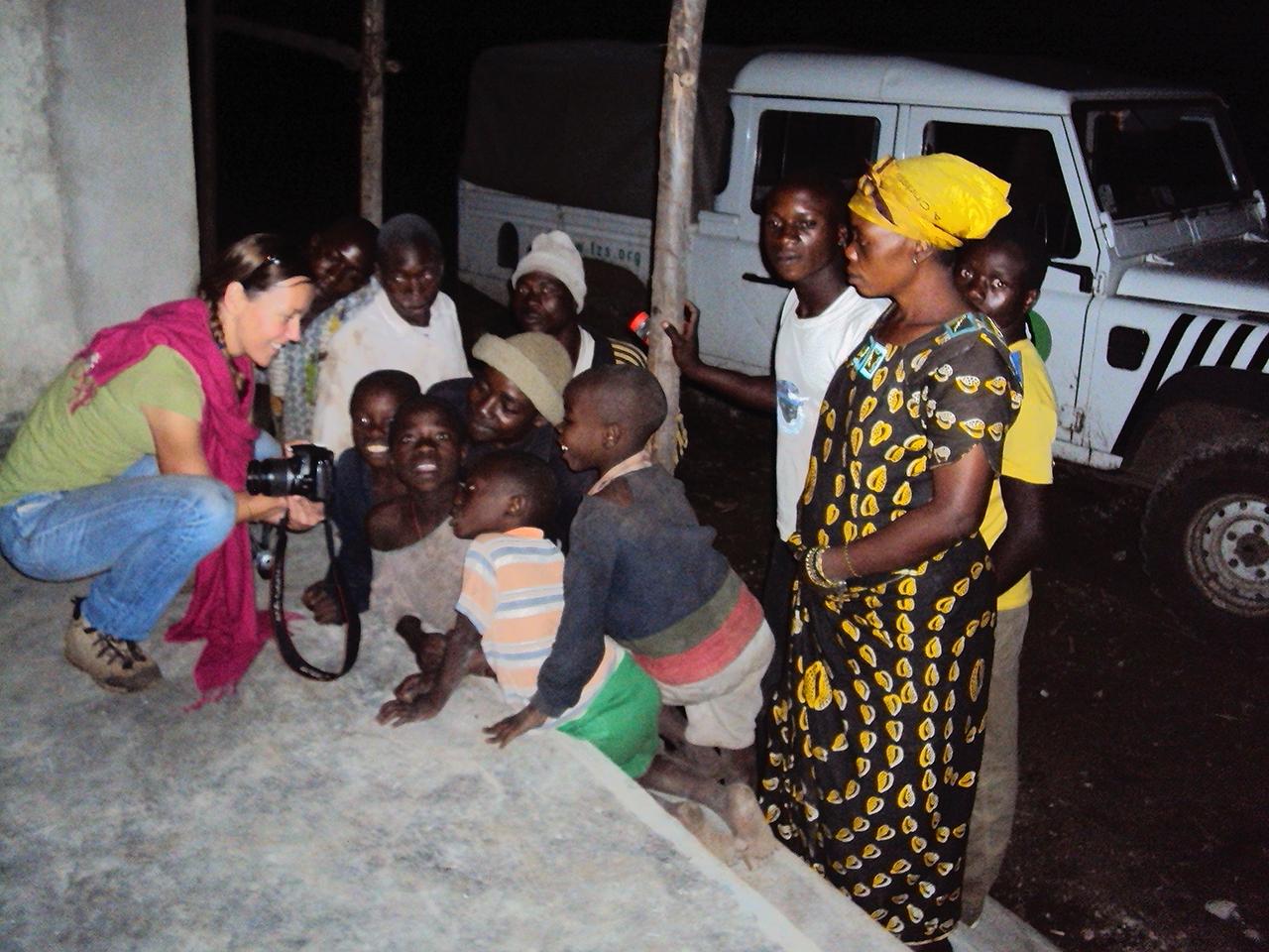 Community dialogue in Tongo