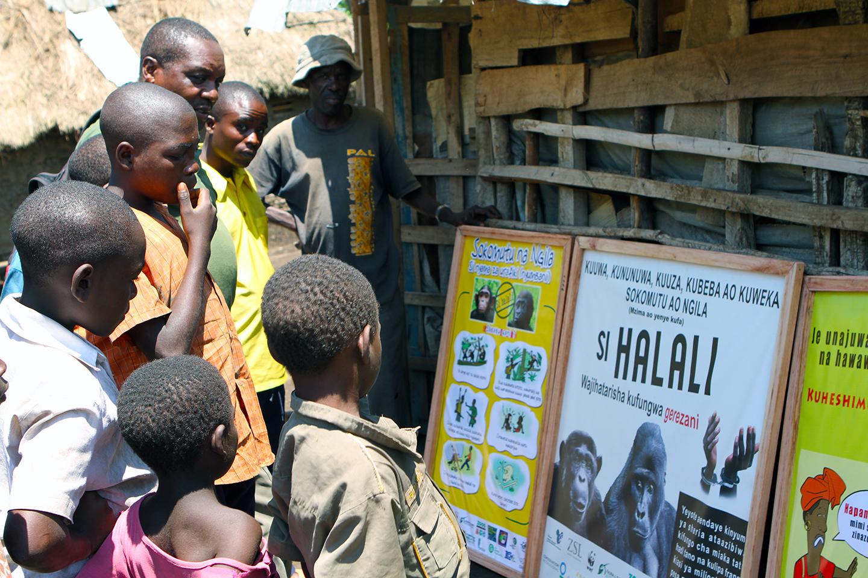 School materials: No bushmeat