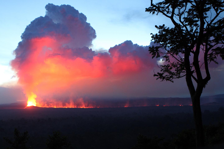 Eruption! Nyamuragira