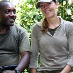 Alexis and Anita in Tongo forest