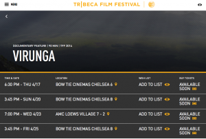 Virunga screenings TFF2014