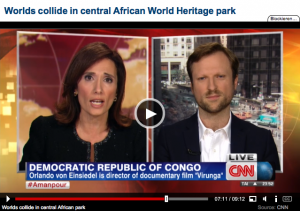 CNN Virunga interview