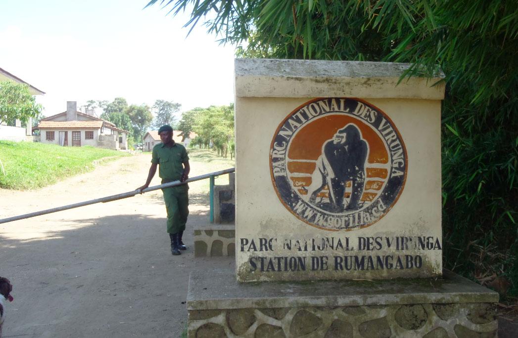 Entrance Rumangabo headquarters