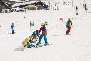 Reportage über die No-Handicap Skidays in St. Anton am Arlberg