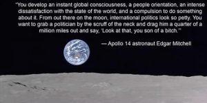 Astronaute's view