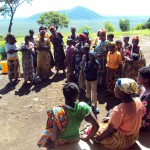 Community dialogue in Tongo